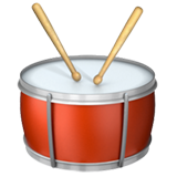 Emoji Drum Apple