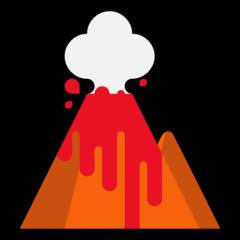 Arti Emoji 🌋 Gunung Berapi (Volcano) - Emojipedia