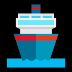 Emoji Kapal Penumpang Microsoft