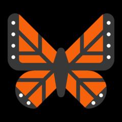 Emoji Kupu-Kupu Microsoft