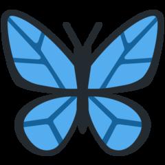 Emoji Kupu-Kupu Twitter