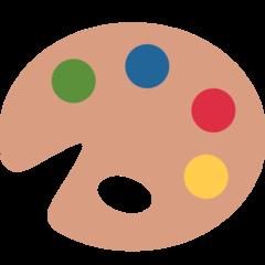 Emoji Palet Seniman Twitter