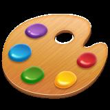 Emoji Palet Seniman WhatsApp