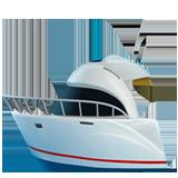 Emoji Perahu Motor Apple