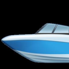 Emoji Perahu Motor Cepat Facebook