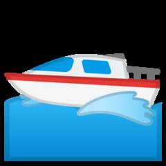 Emoji Perahu Motor Google