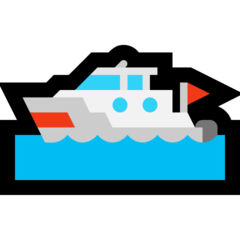 Emoji Perahu Motor Microsoft