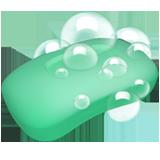 Emoji Sabun Mandi Apple