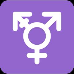 Emoji Simbol Transgender Twitter