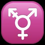 Emoji Simbol Transgender WhatsApp