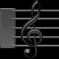 Emoji Skor Musik Facebook