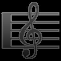 Emoji Skor Musik Google