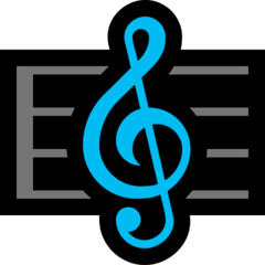 Emoji Skor Musik Microsoft