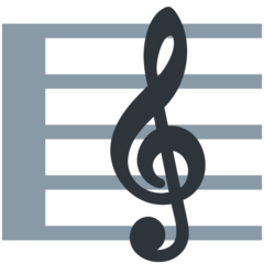 Emoji Skor Musik Twitter