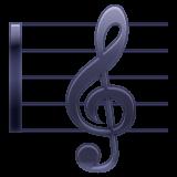 Emoji Skor Musik WhatsApp