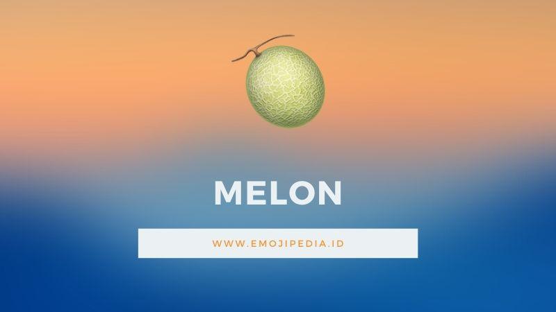 Arti Emoji Melon by Emojipedia.ID