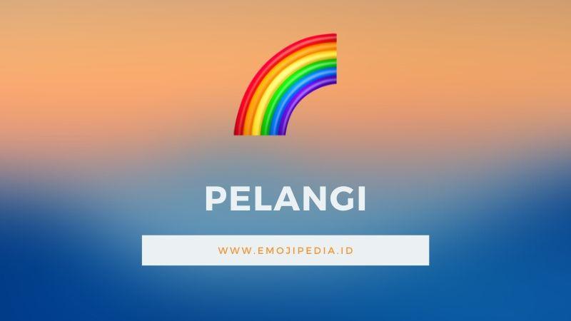 Arti Emoji Pelangi by Emojipedia.ID