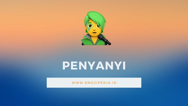 Arti Emoji Penyanyi by Emojipedia.ID