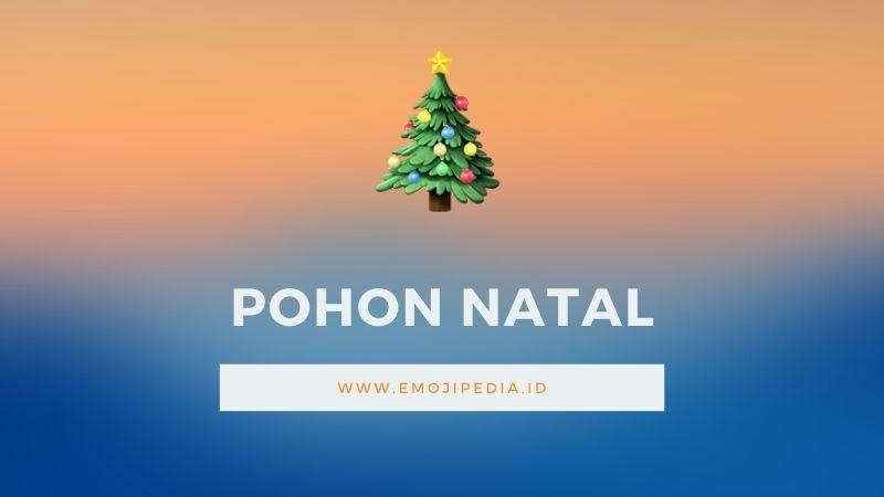 Arti Emoji Pohon Natal by Emojipedia.ID