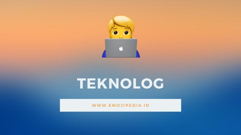 Arti Emoji Teknolog by Emojipedia.ID