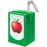 Emoji Kotak Minuman Apple