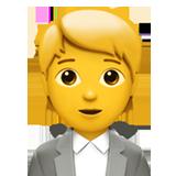 Emoji Pekerja Kantor Apple