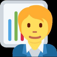 Emoji Pekerja Kantor Twitter