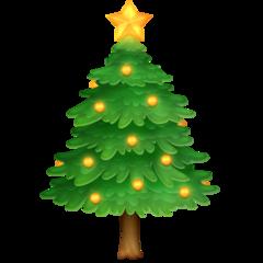 Emoji Pohon Natal Facebook