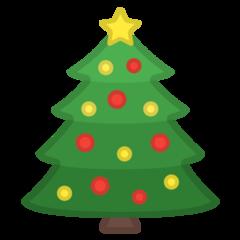 Emoji Pohon Natal Google