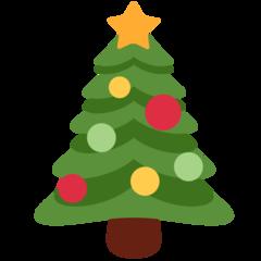 Emoji Pohon Natal Twitter