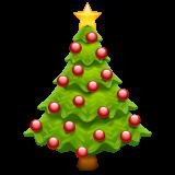 Emoji Pohon Natal WhatsApp
