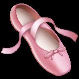 Emoji Sepatu Balet WhatsApp