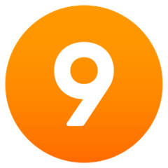 Arti Emoji Angka Sembilan JoyPixels