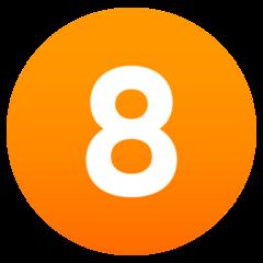Emoji Angka Delapan JoyPixels