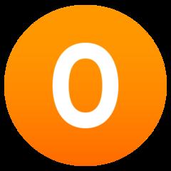 Emoji Angka Nol JoyPixels