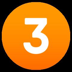 Emoji Angka Tiga JoyPixels