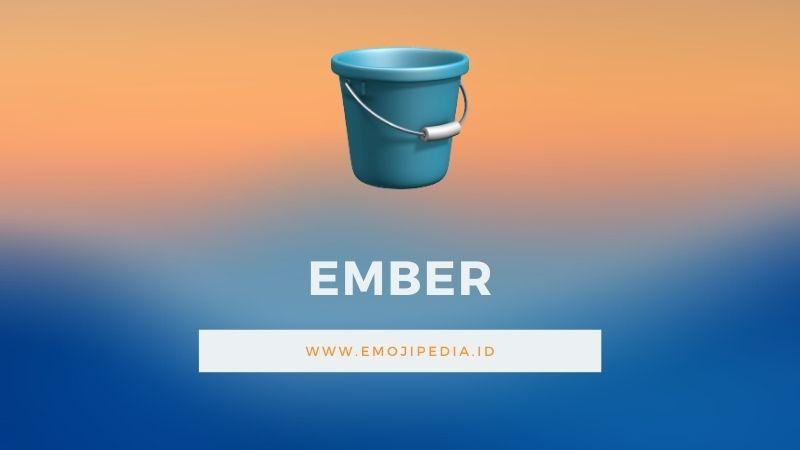 Arti Emoji Ember by Emojipedia.ID