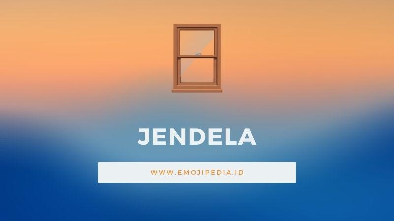 Arti Emoji Jendela by Emojipedia.ID