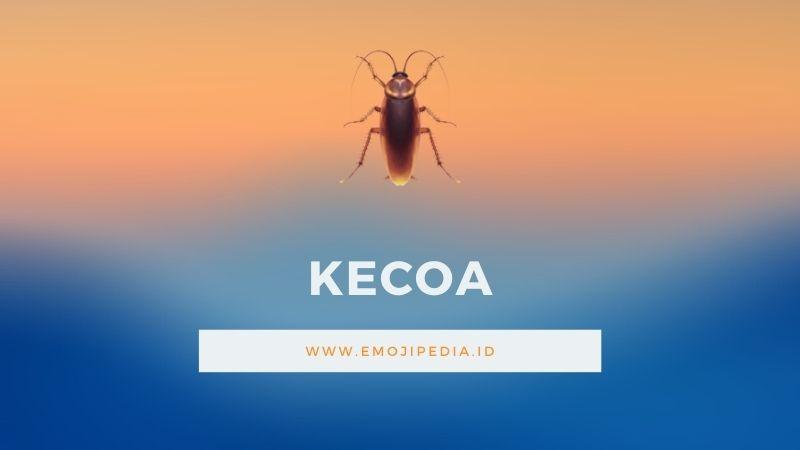 Arti Emoji Kecoa by Emojipedia.ID