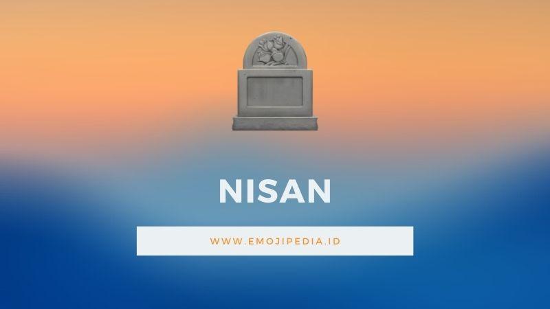 Arti Emoji Nisan by Emojipedia.ID