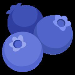 Emoji Bluberi Google