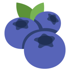 Emoji Bluberi Twitter