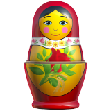 Emoji Boneka Bersarang Apple