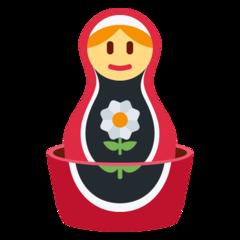 Emoji Boneka Bersarang Twitter