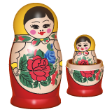 Emoji Boneka Bersarang WhatsApp