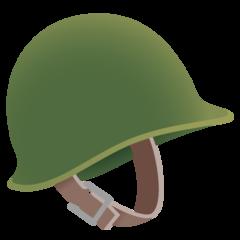 Emoji Helm Militer Google