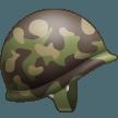 Emoji Helm Militer Samsung