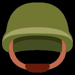 Emoji Helm Militer Twitter