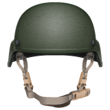 Emoji Helm Militer WhatsApp