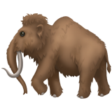 Emoji Mamut Apple